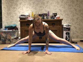 middle splits