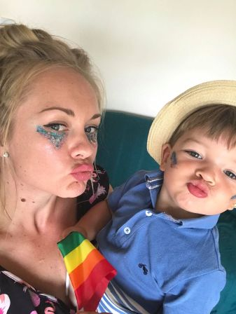 mummy blog - emma and finlay